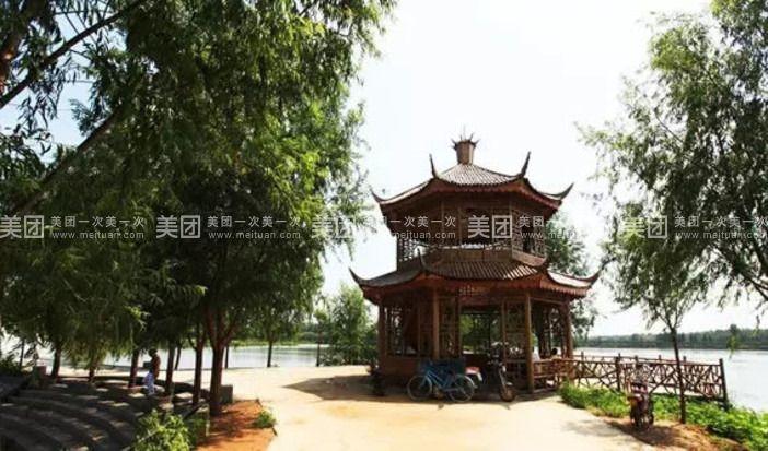 天津市紫云水岸风景区,位于翠屏湖的北岸.