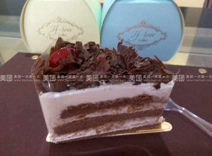 黑森林慕斯切块蛋糕