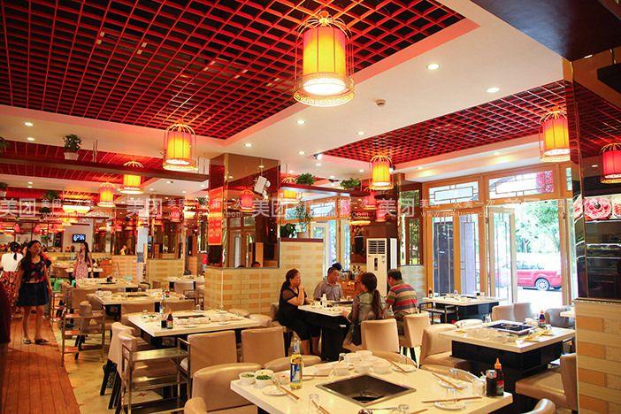 巴蜀九尺鸭肠王自助火锅超市,大众的消费,丰富的菜品,美味的小吃图片
