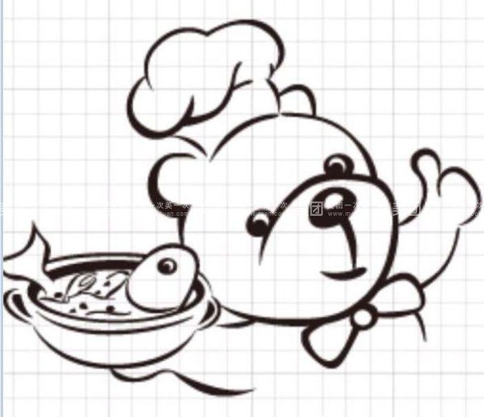动漫 简笔画 卡通 漫画 手绘 头像 线稿 702_605