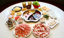 【建设路】3000浦时尚火锅烧烤餐厅:2人火锅