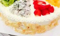纯奶油蛋糕_8寸纯动物奶油蛋糕1个,约8英寸,圆