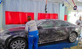 洗车+打蜡套餐,贴心提供顾客休息场所