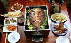 仅售75元!价值148元的4人餐。本溪老店采用广州特色烧烤技术,干净卫生,烤出色泽饱满,味道鲜美。
