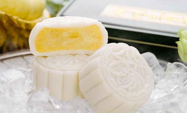 【香洲区】蜂蝶来饼店榴莲冰皮月饼1盒,仅限自提,不提供配送-蜂蝶