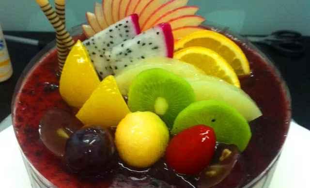 圆形欧式蛋糕图片