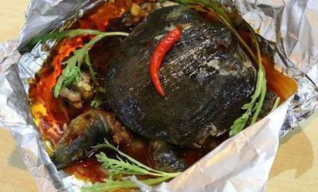 【多城市】奇香烤鱼锡纸烤甲鱼1份,提供免费WiFi-奇香烤鱼团购 美团