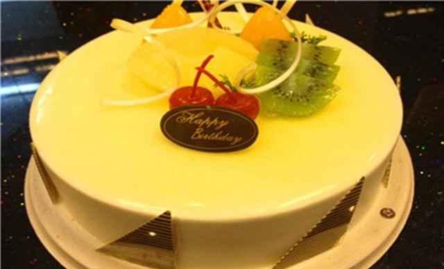 文昌公园】帝皇蛋糕9寸冰淇淋水果蛋糕1个,约9寸,圆-帝皇蛋糕团