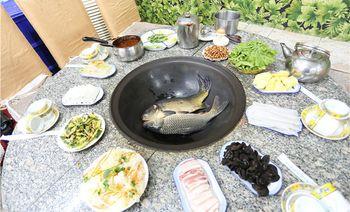上一当东北铁锅活鱼-美团