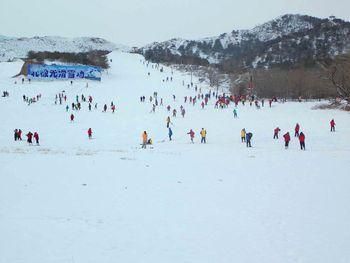 北极光滑雪场-美团