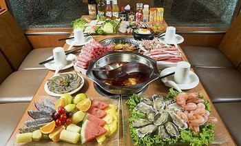 汉宁苑海鲜自助火锅烤肉美食中心-美团