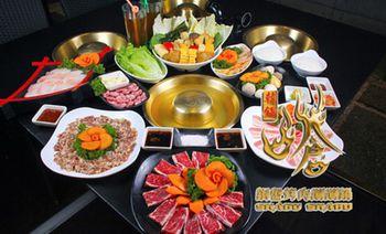 呛韩锅铜盘烤肉涮涮锅-美团