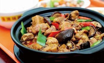 宝记黄焖鸡米饭-美团