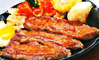 胡桃人牛排主题餐厅-美团