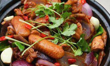 重庆鸡公煲(青湖路店)-美团