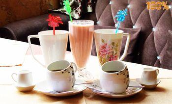 玫瑰庄园咖啡西餐厅-美团