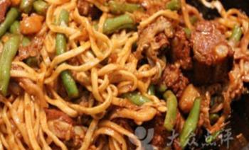 巴盟茶树菇焖面-美团