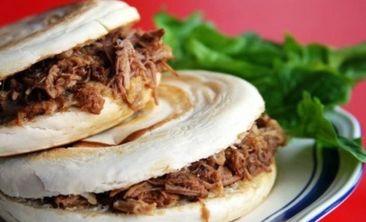 陕西美食肉夹馍-美团