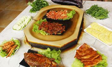 原生态石板烧烤-美团