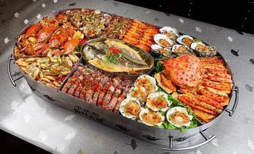 小渔船海鲜自助餐厅-美团