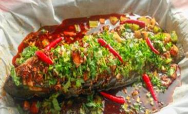 木桶鱼纸包鱼-美团