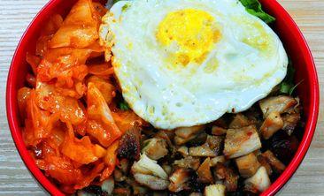 韩式风味烤肉拌饭-美团
