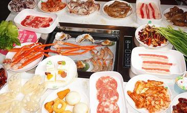汉釜宫自助海鲜▪烤肉▪火锅-美团