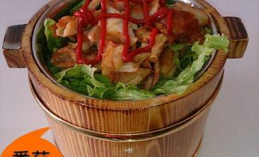 烤肉木桶饭-美团