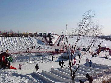 葫芦山庄滑雪场-美团