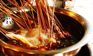 沸腾100麻辣串串香排骨米饭-美团