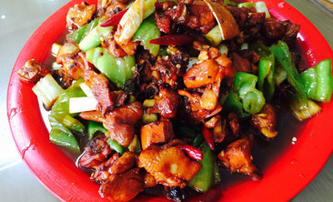 水中鲜烤鱼大盘鸡-美团