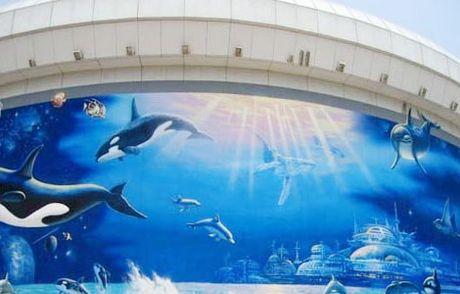 北京海洋馆景区地图