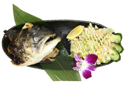 美团网:长沙今日团购:【运达中央广场】猫迹日本料理仅售28元!价值48元的烤鱼头1份,提供免费WiFi。