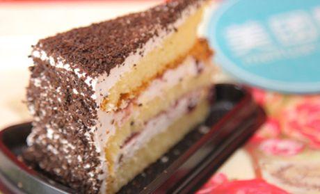 【北京翻糖心语团购】翻糖心语黑森林切块蛋糕团购图片