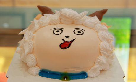 喜羊羊蛋糕太可爱了,我家宝宝