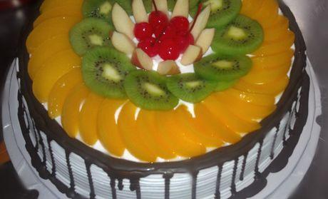【襄阳旺旺蛋糕团购】旺旺蛋糕10英寸水果巧克力蛋糕