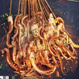 :长沙今日团购:【开福区】鱿鱼专业户仅售10元!价值20元的鱿鱼串10份,提供免费WiFi。