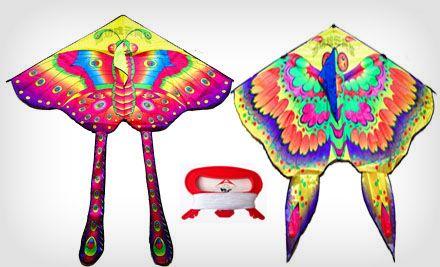 戏云蝴蝶风筝1个,2个及以上全国包邮 美团网