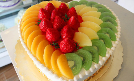 嘉华蛋糕世界12英寸水果蛋 高清图片