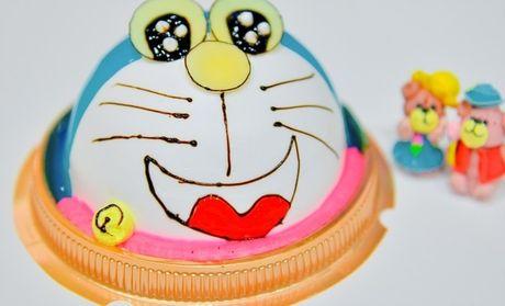 卡通奶油蛋糕
