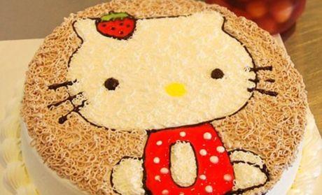 【北京麦香村蛋糕团购】麦香村蛋糕可爱小猫水果夹心