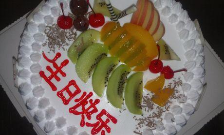 【襄阳旺旺蛋糕团购】旺旺蛋糕12英寸水果巧克力蛋糕