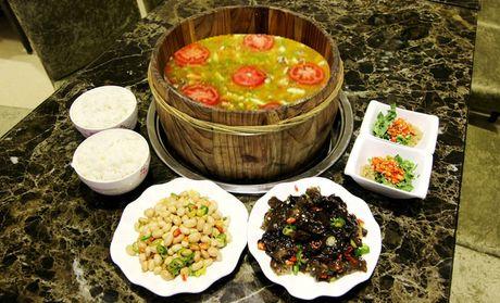 【兰州正红木桶鱼团购】正红木桶鱼2人餐团购|图片