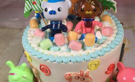 【建文新世界】马小跳创意蛋糕-美团