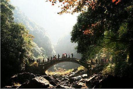 楠溪江旅游景点地图