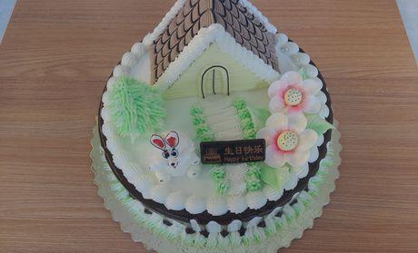 【邢台甜甜西饼屋团购】甜甜西饼屋小房子蛋糕团购