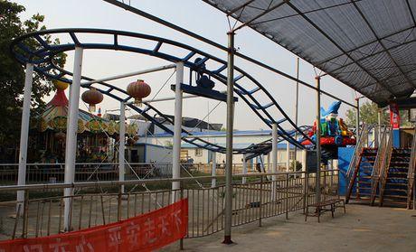 郑州人民公园鬼屋图片展示