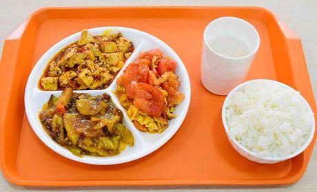 【米老大快餐怎么样】北京特色米老大快餐三素菜盒图片