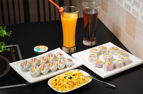 :长沙今日团购:【涉外经济学院】七度香小火锅仅售29.9元!价值42元的寿司双人餐,提供免费停车位。