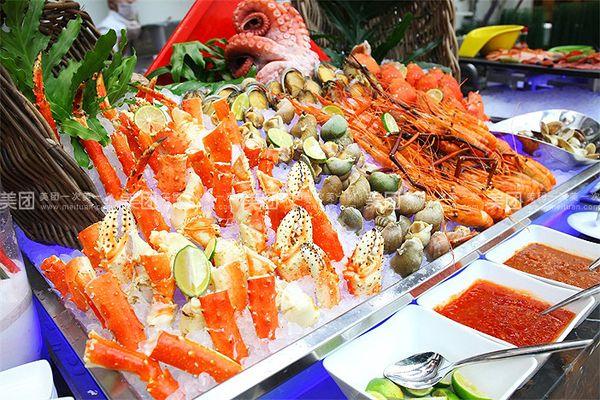 环球洲际大饭店天堂岛海鲜自助餐厅(天堂岛咖啡厅)